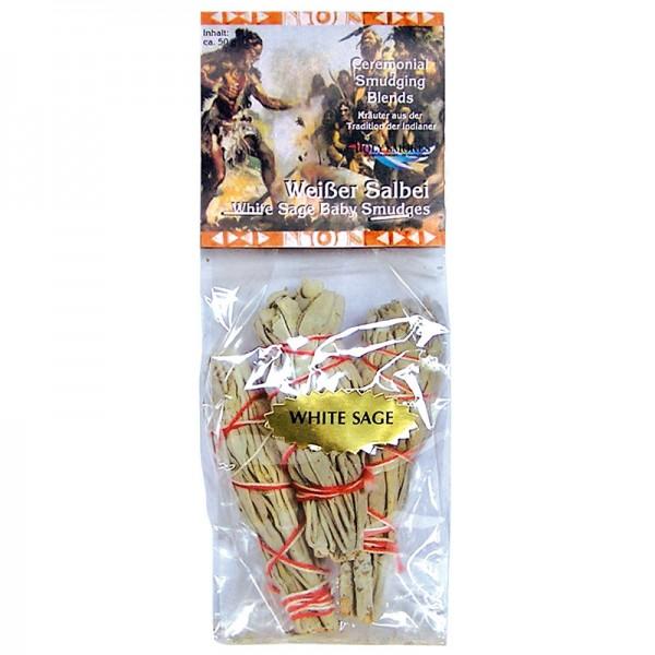 Berk Räucherwerk Weißer Salbei mini 3er-Pack