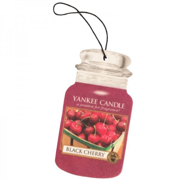 Yankee Candle Autoduft Black Cherry - Car Jar