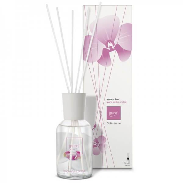 ipuro raumduft white orchid diffuser season line. Black Bedroom Furniture Sets. Home Design Ideas