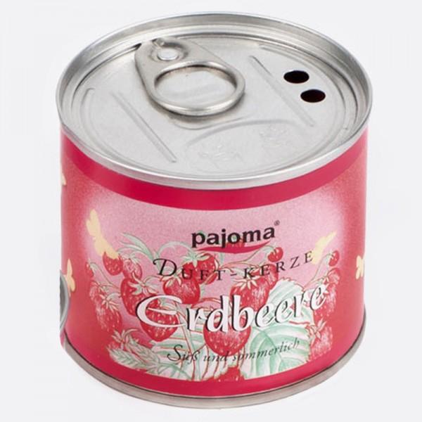 Pajoma Duftkerze aus der Dose Erdbeere