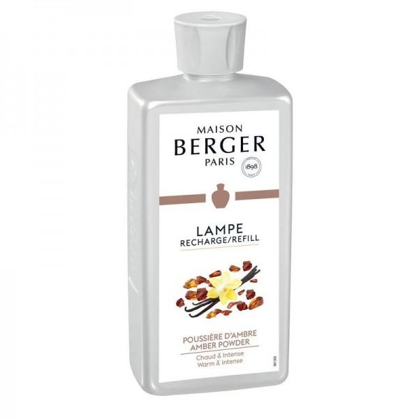 Lampe Berger Poussiere Ambre Nachfüllflasche Pudriger Amber