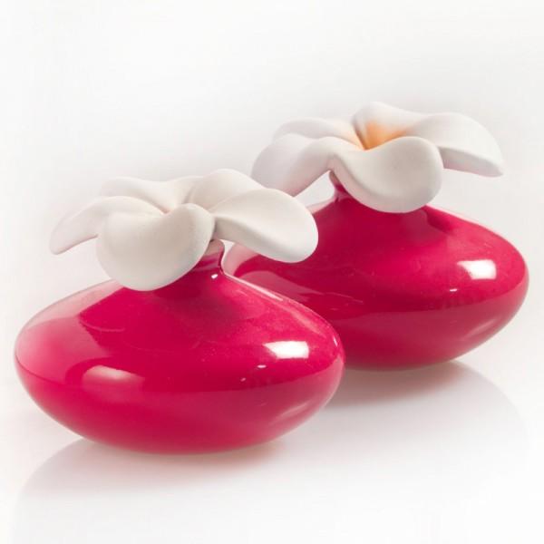 Millefiori Zierdiffuser Extrakleine Blumen - rot