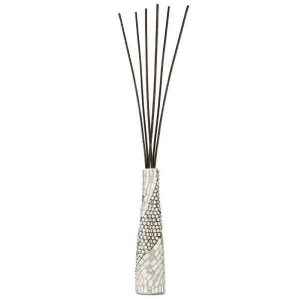 Millefiori Airdesign Diffuser Bamboo Mosaik Silber