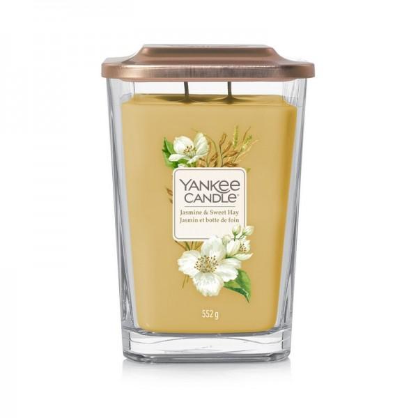 Yankee Candle Jasmine & Sweet Hay Duftkerze - Elevation