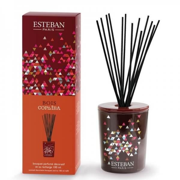Estéban Bois Copaiba Diffuser - bouquet parfumé décoratif