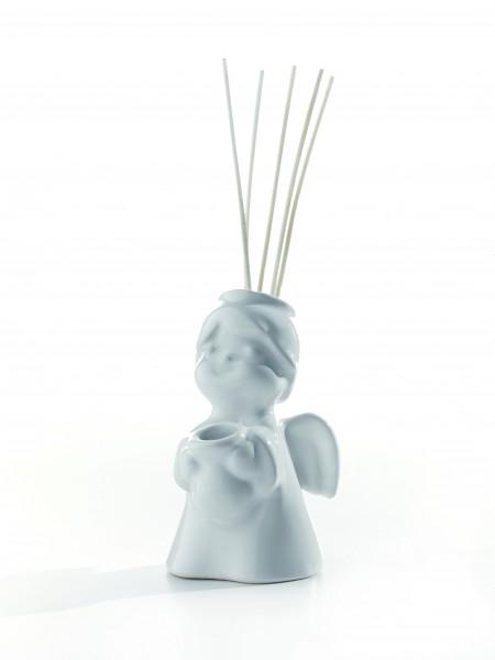 Millefiori lovely Engelchen Diffuser - Silber - hochwertiges Porzellan