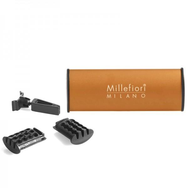 Millefiori Autoduft Orange Tea + Nachfüller - Sparset