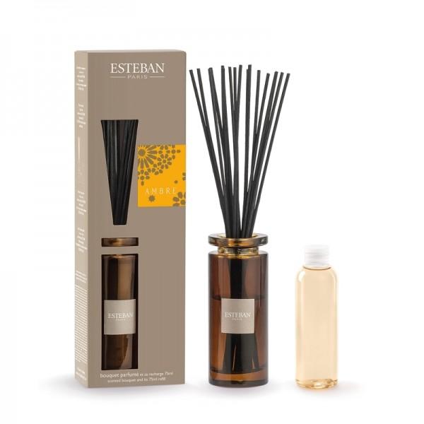 Estéban Ambre Diffuser 75ml - bouquet parfumé