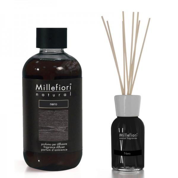 Millefiori Nero Diffuser + Nachfüllflasche - Sparset