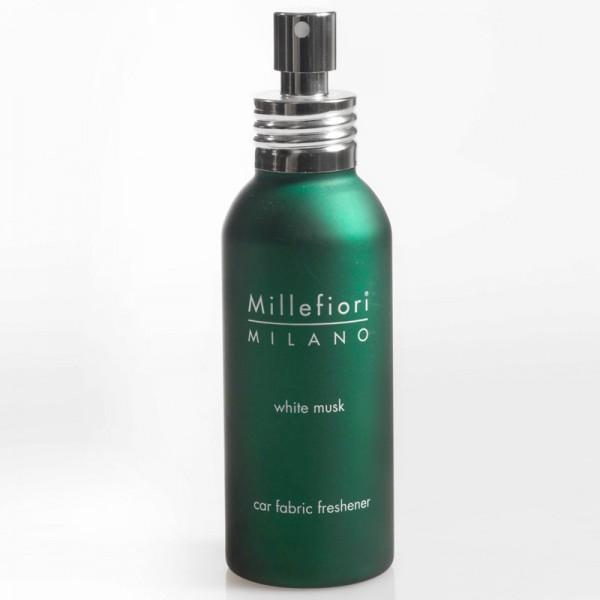 Millefiori Autotextilspray Car Fabric Freshener - White Musk