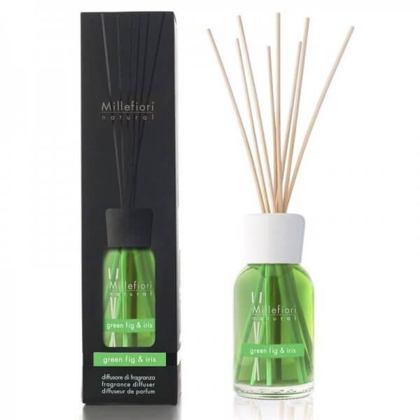 Millefiori Green Fig & Iris Diffuser – Natural Fragrances
