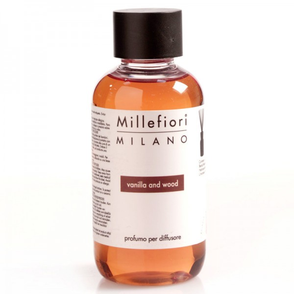 Millefiori Vanilla and Wood Nachfüllflasche