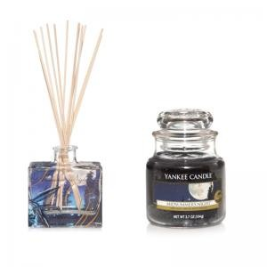 Yankee Candle Midsummer`s Night - Diffuser + Housewarmer - Sparset