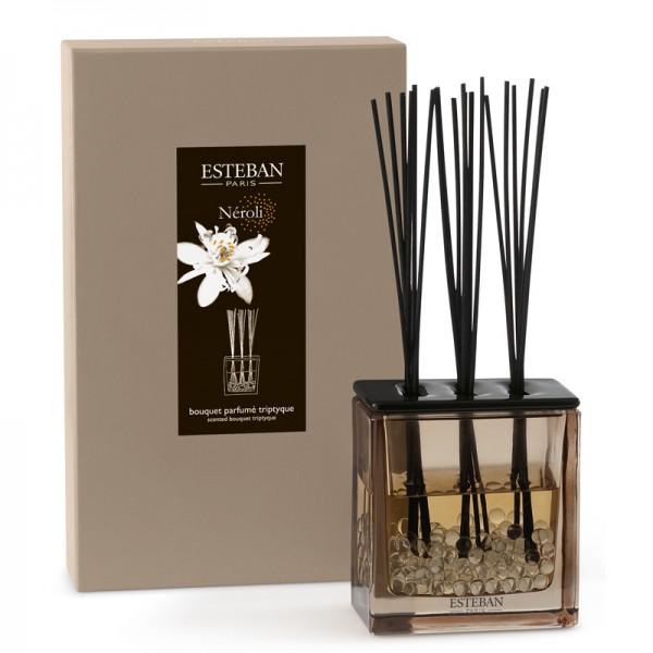 Estéban Néroli Diffuser - bouquet parfumé triptyque