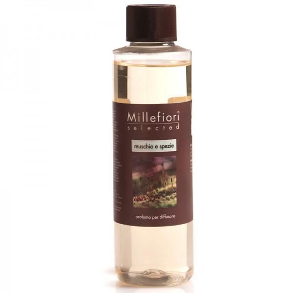 Millefiori Muschio & Spezie Nachfüllflasche