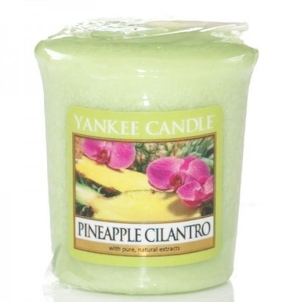 Yankee Candle Pineapple Cilantro - Votivkerze - inkl. Gratis Stabfeuerzeug *