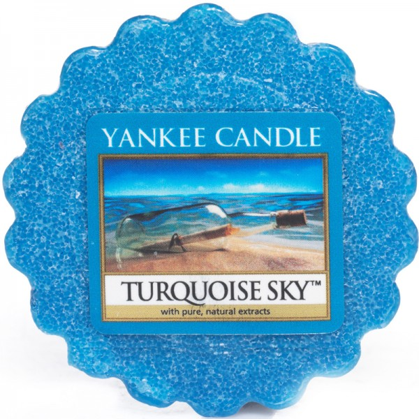 Yankee Candle Dufttarts Turquoise Sky - Duftwachs