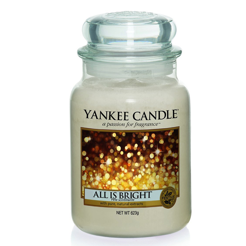 yankee candle all is bright. Black Bedroom Furniture Sets. Home Design Ideas