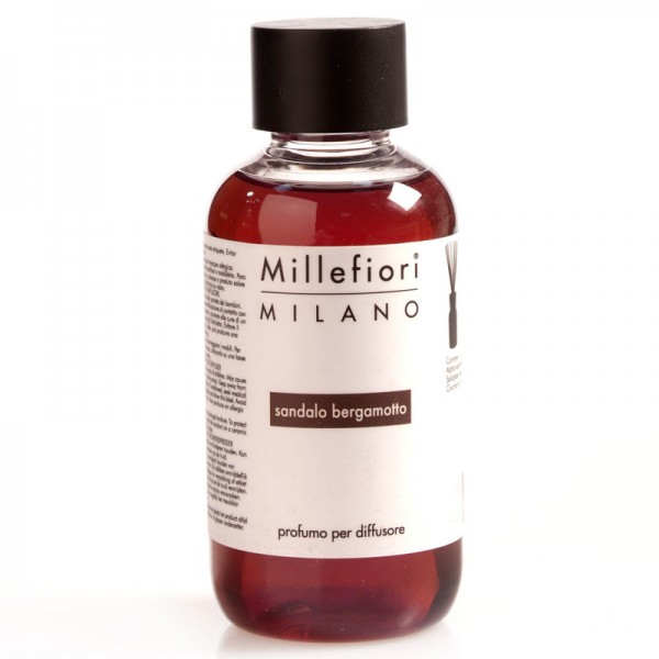 Millefiori Sandalo Bergamotto Nachfüllflasche