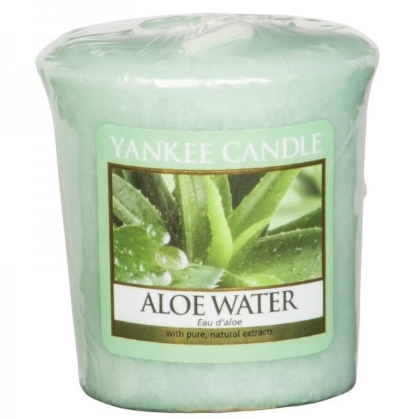 Yankee Candle Aloe Water - Votivkerze - inkl. Gratis Stabfeuerzeug *