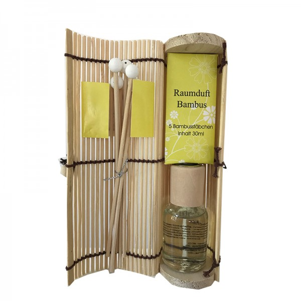 Pajoma Lemongras Diffuser Raumduft im Bambusrohr