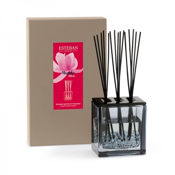 Estéban Magnolia rosa Diffuser - bouquet parfumé triptyque