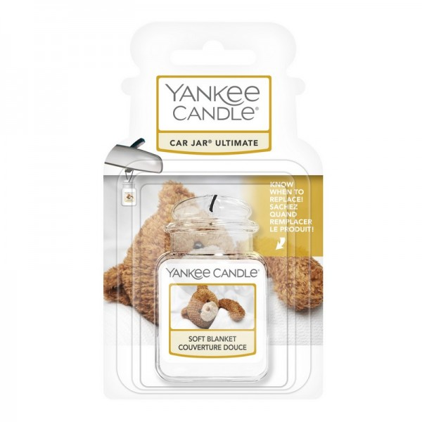 Yankee Candle Autoduft Soft Blanket - Car Jar Ultimate