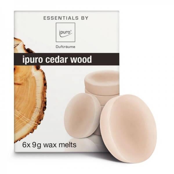 ipuro Wachsplättchen cedar wood - Duftwachs - Wax Melts