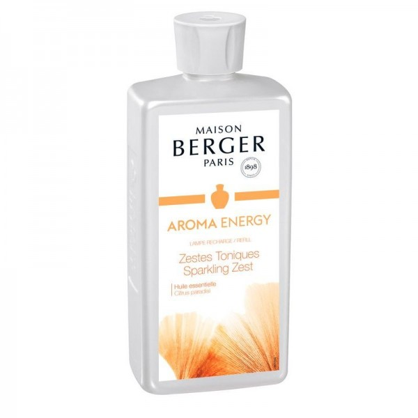 Lampe Berger Zestes Toniques Nachfüllflasche Dynamisierende Zitrusschalen - ENERGY