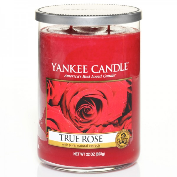 Yankee Candle True Rose groß - Perfect Pillar