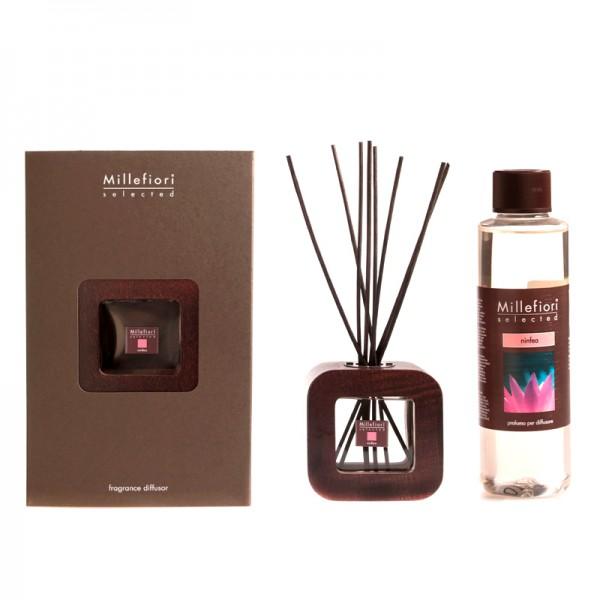 Millefiori Selected Design Ninfea Diffuser + Nachfüllflasche - Sparset