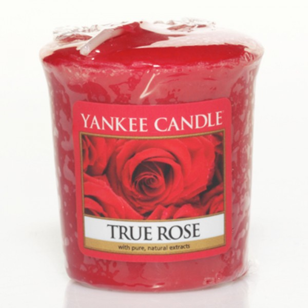 Yankee Candle True Rose - Votivkerze