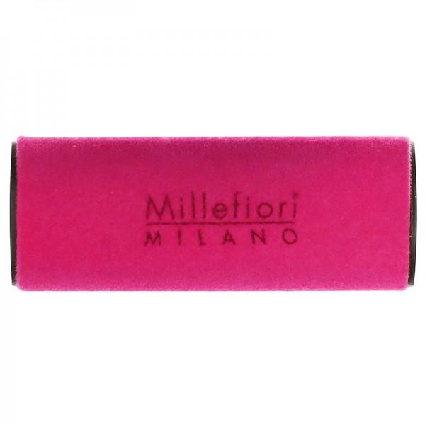Millefiori Autoduft Velluto Green Tea - knallig pink