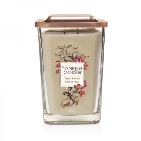 Yankee Candle Velvet Woods Duftkerze - Elevation