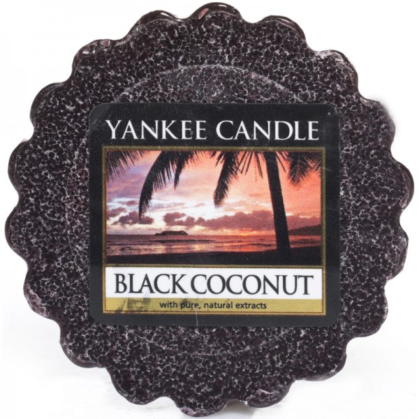 Yankee Candle Dufttarts Black Coconut - Duftwachs