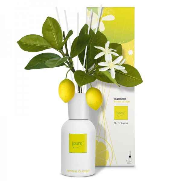ipuro raumduft limone di capri diffuser season line. Black Bedroom Furniture Sets. Home Design Ideas