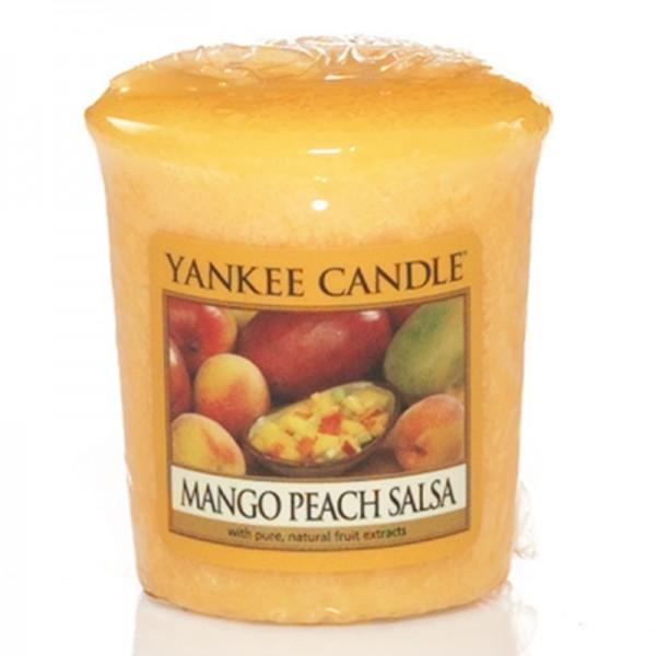 Yankee Candle Mango Peach Salsa - Votivkerze - inkl. Gratis Stabfeuerzeug *