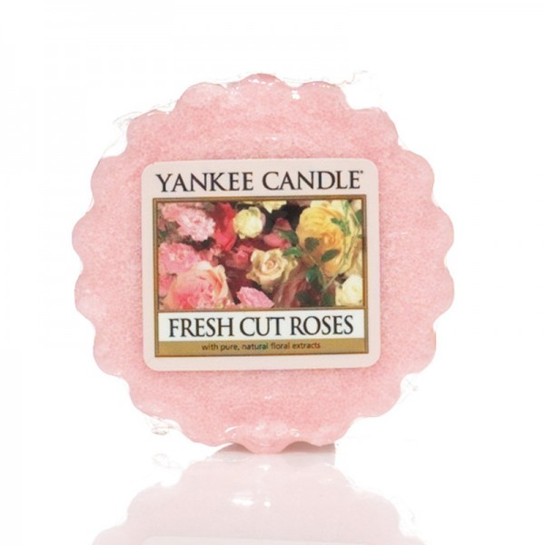 Yankee Candle Dufttarts Fresh Cut Roses - Duftwachs