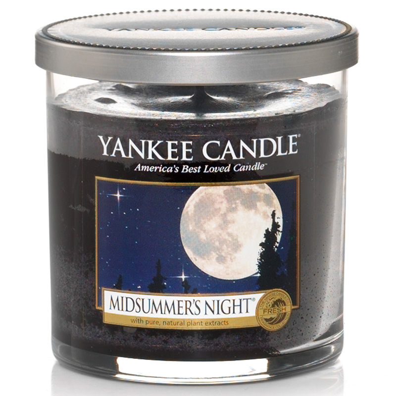yankee candle midsummer 39 s night perfect pillar inkl. Black Bedroom Furniture Sets. Home Design Ideas