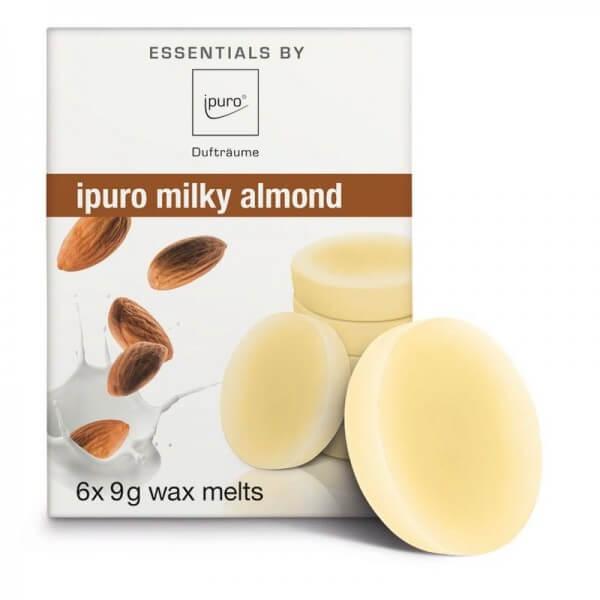 ipuro Wachsplättchen milky almond - Duftwachs - Wax Melts