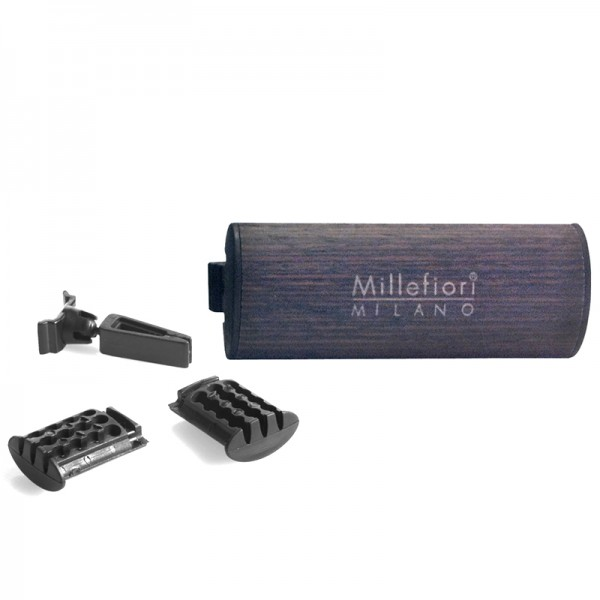 Millefiori Autoduft Wood Legni e Spezie + Nachfüller - Sparset