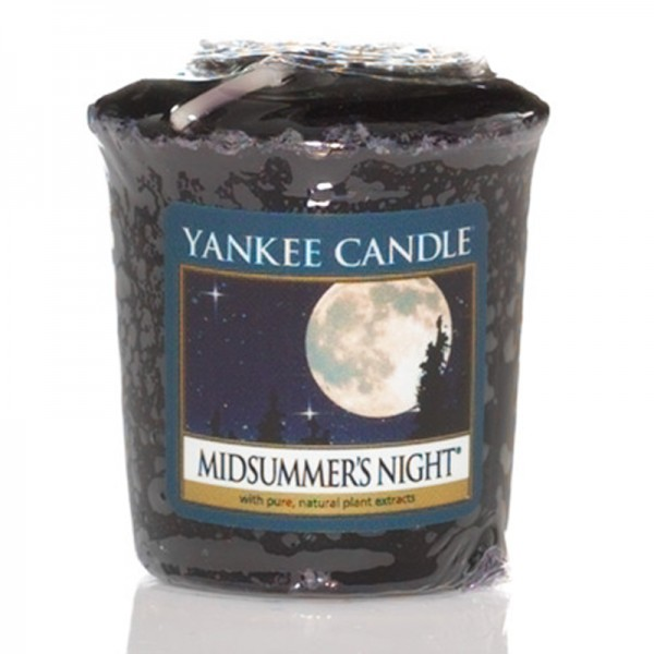 Yankee Candle Midsummer`s Night - Votivkerze - inkl. Gratis Stabfeuerzeug *