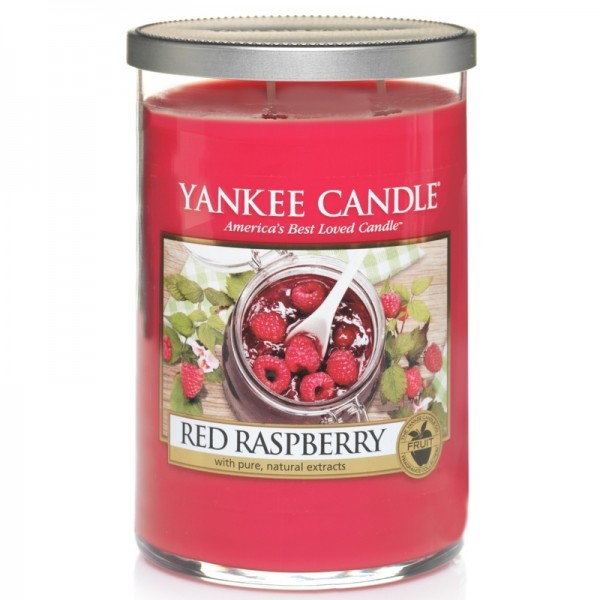 Yankee Candle Red Raspberry - Perfect Pillar