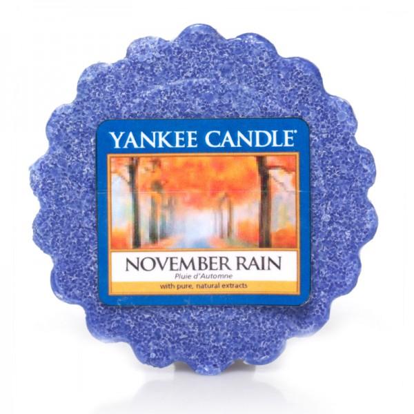 Yankee Candle Dufttarts November Rain - Duftwachs
