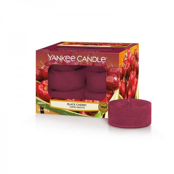 Yankee Candle Black Cherry - Teelicht