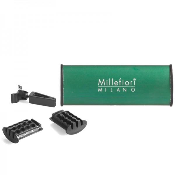 Millefiori Autoduft White Musk + Nachfüller - Sparset