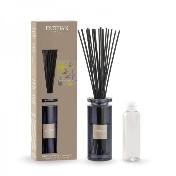 Estéban Esprit de the Diffuser 75ml - bouquet parfumé décoratif