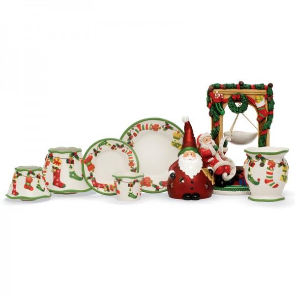 Yankee Candle Großes Kerzentablett Weihnachtsstrumpf
