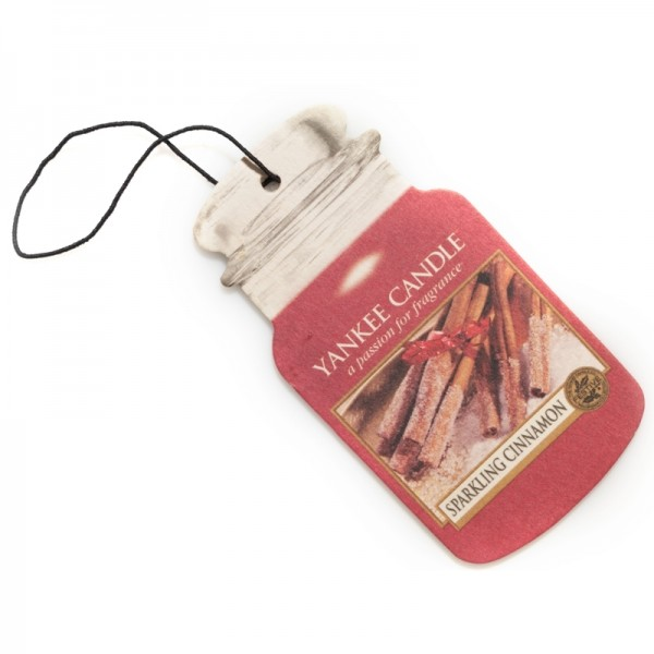 Yankee Candle Autoduft Sparkling Cinnamon