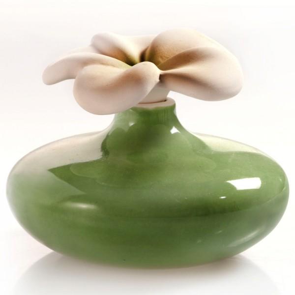Millefiori Mini Zierdiffuser Blume - grün